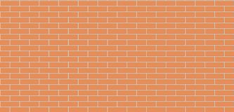 Brick wall brown seamless texture. Masonry background vector illustration
