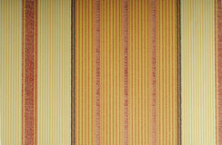 Orange wallpaper with vertical lines Stock Photography
