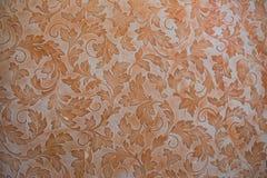 Orange wallpapermodell Arkivfoton