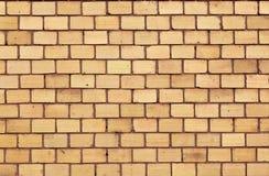 Orange Wand des roten Backsteins Stockbilder