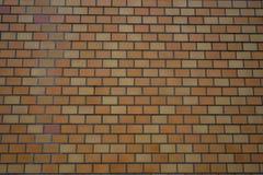 Orange Wandziegelsteinhintergrund in Japan Lizenzfreie Stockbilder