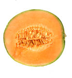 Orange Wassermelone Stockfoto