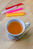 Orange water drink Stock Photo