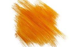 Orange watercolor background Stock Photography