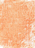 Orange watercolor background Stock Photography