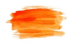 Orange Watercolour Stock Images