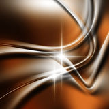 Orange Wave Background Stock Images