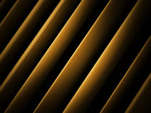 Orange wave cloth Royalty Free Stock Photo