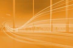Orange wave design Royalty Free Stock Photo
