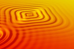 Orange waves Stock Images