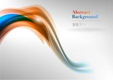Orange waves Royalty Free Stock Images