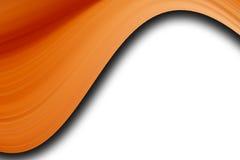 Orange waves Stock Photography