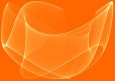 Orange waves background Royalty Free Stock Photo