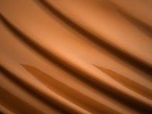 Orange waves background Stock Images
