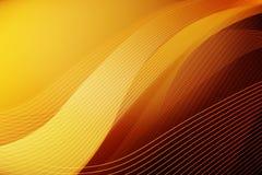 Orange waves background Royalty Free Stock Images