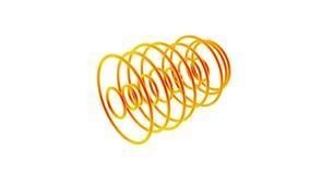 Orange waves stock footage