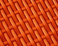 Orange Weave Pattern Background Royalty Free Stock Photos