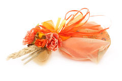 Orange Wedding Favor Stock Image
