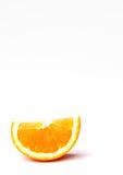 orange wedge Royaltyfri Foto