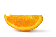 Orange Wedge Royalty Free Stock Photo
