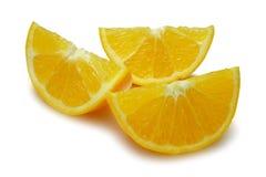 Orange Wedges Royalty Free Stock Images