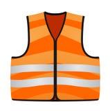 Orange Weste Stockfoto