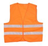 Orange Weste der Sicherheit. Stockbilder