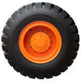 The orange wheel Stock Photography