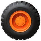 The orange wheel Stock Photography