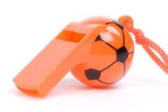 Orange whistle Stock Photo