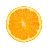 Orange in a white background Royalty Free Stock Photo
