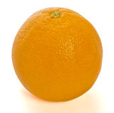 Orange on white background Stock Images