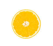 Orange on a white background Stock Photos