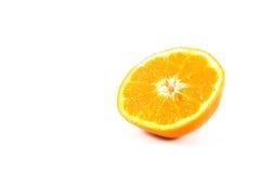 Orange. On the white background Stock Photography