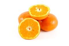 Orange. On the white background Royalty Free Stock Photos