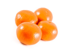 Orange. On the white background Stock Image