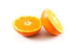 Orange. On the white background Royalty Free Stock Image
