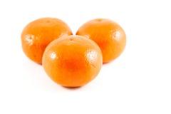 Orange. On the white background Royalty Free Stock Photo