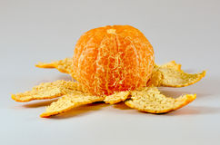 An orange. Royalty Free Stock Images