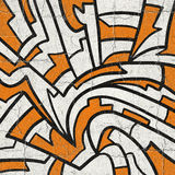 Orange and white background Royalty Free Stock Images
