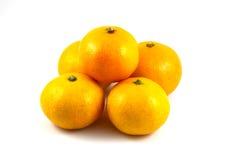 Orange on white background. Orange, fruit, juicy, background, circle, citrus, nature color cut drop droplet food fresh freshness health isolated many nutrition Stock Photos