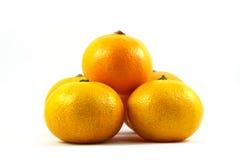 Orange on white background. Orange, fruit, juicy, background, circle, citrus, nature color cut drop droplet food fresh freshness health isolated many nutrition Stock Photo