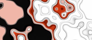 Orange pink white black shapes texture, background, abstract texture and pattern vector illustration