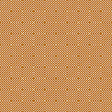 Orange and White Diamonds Tiles Pattern Repeat Background Stock Image