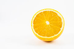 orange white för frukt Fotografering för Bildbyråer