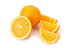 orange white för frukt Royaltyfri Foto