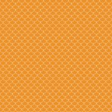 Fish Scales Seamless Pattern stock illustration