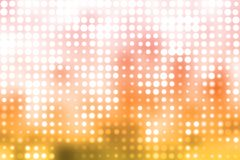 Orange and White Futuristic Light Background Stock Image