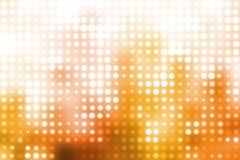 Orange and White Futuristic Light Background royalty free illustration