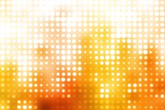 Orange and White Glowing Futuristic  Background Stock Image